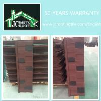 Best 1340*420MM Colour Stone Chip Coated Steel Roof Tiles 50 Years Warranty wholesale