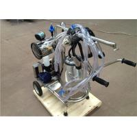 Portable Electric Single Mobile Milking Machine With 50Kpa Vacuum Degree