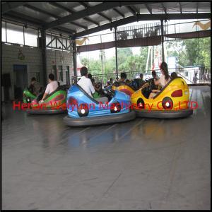 Best amusement rides steel floor electric net bumper car wholesale