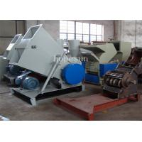 Pipe Plastic Crusher Machine / Plastic Recycling Crusher 500 Kg Per Hour
