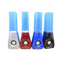 China TF FM 3.5LIN Colorful Lights Crystal Bluetooth Speakers Ipad PC Manufacturer on sale