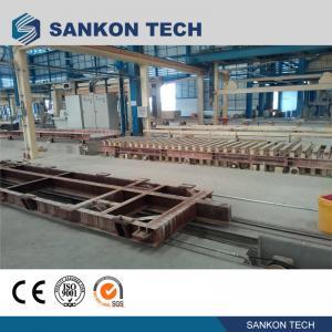 Best SANKON W600mm Ferry Cart AAC Machine Overturn Table wholesale