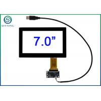 China 7 USB Interface Multi Touch Panel Glass With Projected Capacitive Technology PCT on sale