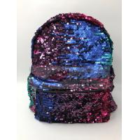 Best Women Polyester Laptop Bag Dazzling Sequin Backpack With Sequin Material wholesale