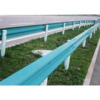China Corrosion Resistant 2 Waves Crash Barrier with Paint Coated on sale