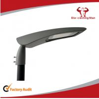 Best Die Casting Aluminium Led Street Light Housing With Adjustable Bracket / Adapter wholesale