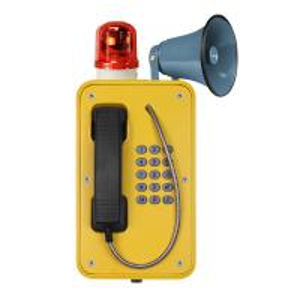 Best Industrial Broadcast Telephone For Emergency , Weatherproof SOS Intercom With Horn wholesale