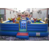 Best Christmas inflatable fun city (playground) wholesale