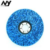 Best 4 Inch Clean And Strip Disc , Paint Stripping Wheel For Wood Fiberglass Backing wholesale