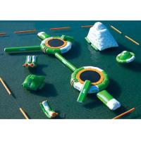 Best Combined Design Inflatable Water Park Lead Free Safe For Kids Playing wholesale