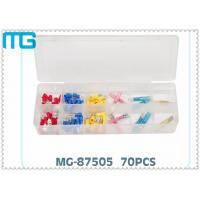 Best 70PCS  Terminal Assortment Kits for  FDD Quick Disconnects with avarious colors ,CE certificated wholesale