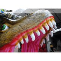Cheap Attractive Cinema 5D Simulator 5D Movie Theatre Dinosaur Design Cabin for sale
