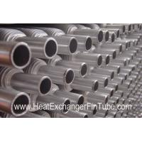 Quality Aluminum Muff  Tubes (1100 / 1060 / 6063 ) , Extruded MONO METAL Air Condition Fin Pipe wholesale