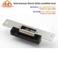 Best Wide Face Door Electric Strike Lock Access Control With Fail Secure Or Fail Safe Function wholesale