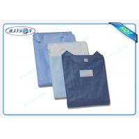 Best 100% PP , SMS Non Woven Medical Fabric Sterile Disposable Surgical Gown Sauna Dress wholesale