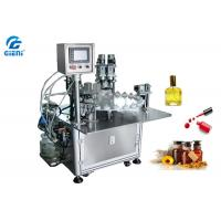 Best Rotary Type Nail Polish Filling Machine PLC Control With 30 Bottles Per Minute wholesale