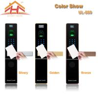 Best Home Automation RFID Card Door Lock With Optical or Capacitive Fingerprint Sensor wholesale