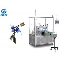 Best Can Type Rotary Liquid Mascara Filling Machine With Auto Capping System wholesale