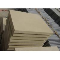 Best Natural Stone Subway Tile , Interior Yellow Sandstone Wall Tiles For Living Room wholesale