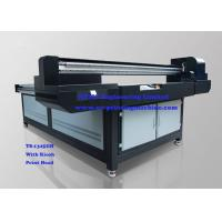 Wide Format Digital Flatbed 3D UV Printer , Glass Printing Equipment