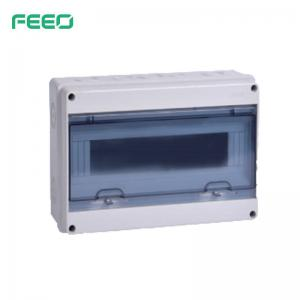 Best MCB Fuse DIN Rail Enclosure FHT ABS Distribution Box UV Protection wholesale