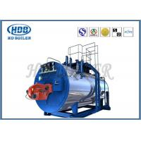 Best High Thermal Efficiency Steam Hot Water Boiler Generators With Oil / Gas Fired wholesale