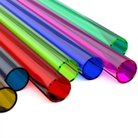 Best 4mm 5mm 6 mm Customized Any Size Color Clear Plastic Acrylic Tube Pipes wholesale
