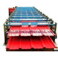 Best Double Layers Wall Panel Roll Forming Machine Automatic High Speed have Panasonic PLC control wholesale