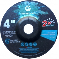 Best 4 Inch Stainless Steel 100×2.5x16mm Flexible Grinding Disc wholesale