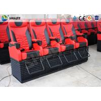 Best Profession 4D Movie Theater With Feet Tickle / Vibration / Push Back wholesale