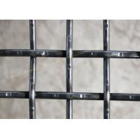 Best High Carbon Steel Square Intercrimp Wire Mesh , Mining Double Crimped Wire Mesh wholesale