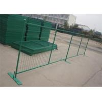 Best PVC Coated Wire Mesh Canada , Portable Fence Canada Low Carbon Steel Material wholesale