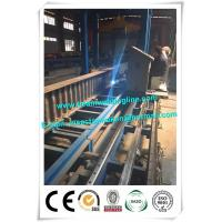 Quality Corrugated web assembling for H beam production line , H beam corruagated welding machine wholesale