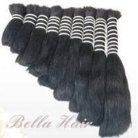 China Single Drawn Hair Bulk Human Hair Raw Virgin Hair on sale