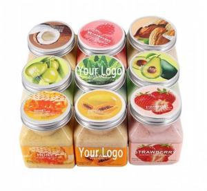 Best Fruit Dead Skin Exfoliating Whitening Body Scrub Set wholesale