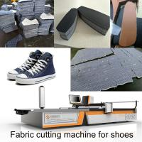 Quality 1.7m Automatic Fabric Cutting Machine Sneakers Leather Canvas Shoes Machine For Shoes wholesale