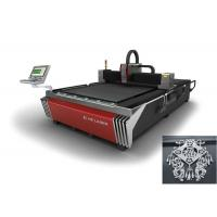 Quality High Speed Metal Fiber Optic Laser Cutter With Servo Motor Driving , CNC Control System wholesale