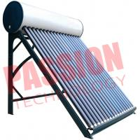 Best High Efficient Non Pressurized Solar Water Heater Vacuum Tube Easy Installation wholesale