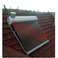 Best CE Approved Vacuum Tube Solar Water Heater Open Loop with Assistant Tank wholesale