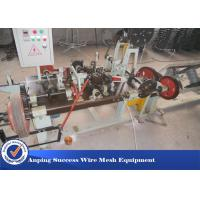 Best Motor 2.2kw High Speed Barbed Wire Machine For Producing Single Stranded Barbed Wire wholesale