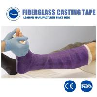 Best X-ray permissibility Waterproof Fiberglass Orthopedic Polyester fracture Bandage for bone fixation wholesale