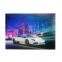 Best Car Poster  Lenticular 3d Effect Poster PET CMYK Offset Printing wholesale