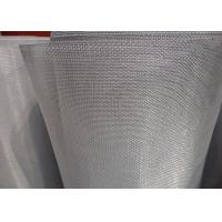 Best 18 X 16 Mesh Bright Stainless Steel Insect Screen Light Weight With Uniform Finish wholesale