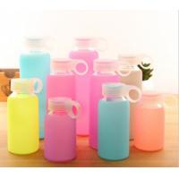 Best Food Grade Silicone Bottle Sleeve High Temp Tolerance For Glass Ceramic Bottle wholesale