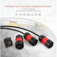 Best Light Weight M20 2/3/4/5/7/9/12Pins Soldering Cable Male Female Panel Mount Connector wholesale