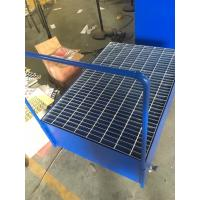 Buy cheap Galvanized Steel Pallet Spill Containment Drum Platform For Multi Drums Storing from wholesalers