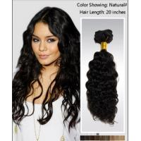 Best Elegant 25 Inch / 26 Inch Curly Human Hair Wigs / brazilian curly hair extensions wholesale