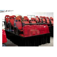 Best Car Driving 5D Simulator System, Movie Theater Rider With 200 Inch Screen wholesale