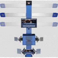 Best Auto Tracking 4 Wheel Alignment Machine , T268 On Vehicle Wheel Balancing Machine wholesale