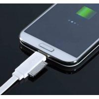 Best 2 In 1 IPhone 4S / 5S Double Ended HTC Micro USB Charging Data Cable White wholesale